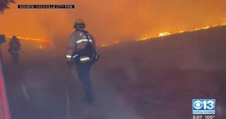 加州野火延燒!300多處火警燒毀4.5個台北市 數千人徹夜逃命