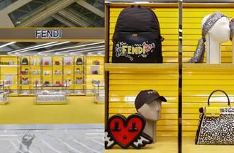 FENDI X Mr. Doodle聯名七夕快閃店 當代藝術完美融合羅馬傳統