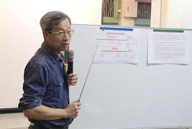 彰化縣衛生局長葉彥伯防疫超前布署,彰化縣進行精準篩檢已經4個月。(吳敏菁攝)