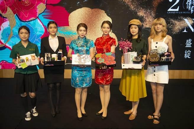 漢來大飯店今年推出的月餅禮盒,講求時尚流行和環保包裝。(圖/業者提供)