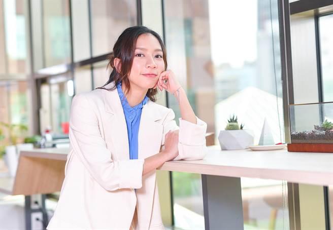 陳妤首次演出電影,自認「憨膽」的人通常會有好運。(盧禕祺攝)