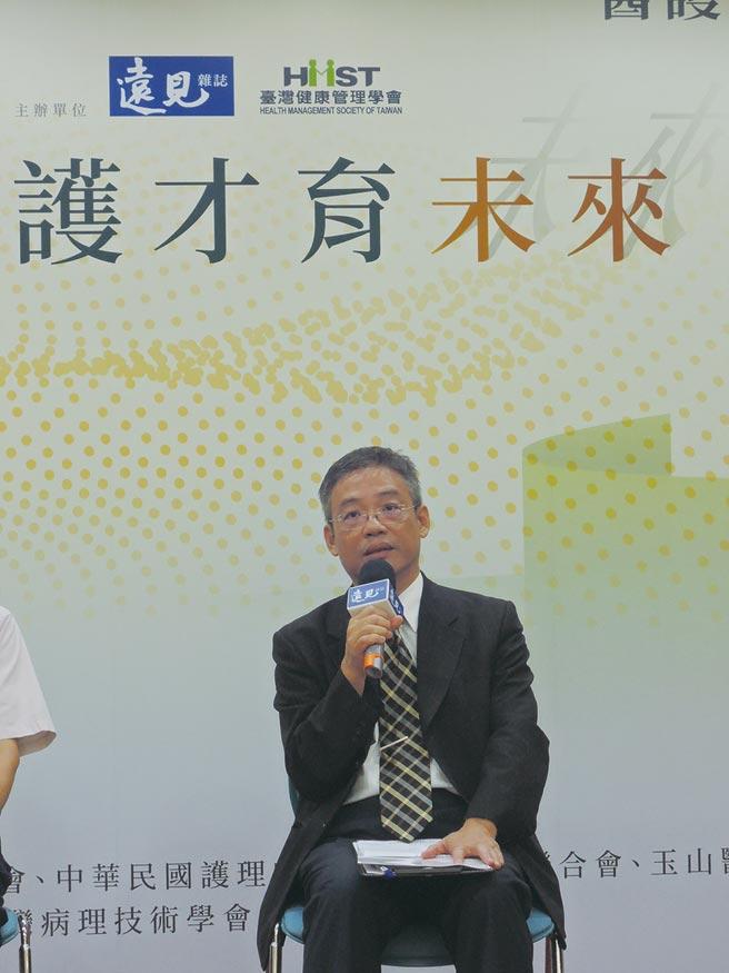 元培医事科技大学校长林志城。图/元培医事科技大学提供