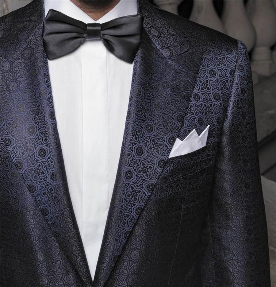 (被譽為領帶界勞斯萊斯的「Stefano Ricci」迎麗晶之夜首度登台。圖/麗晶精品提供)