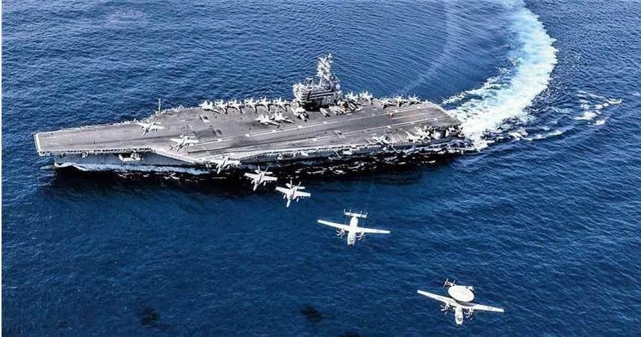 2020年7月5日/美國海軍航空母艦雷根號目前在南海操演。 (圖/翻攝自美國海軍官網)