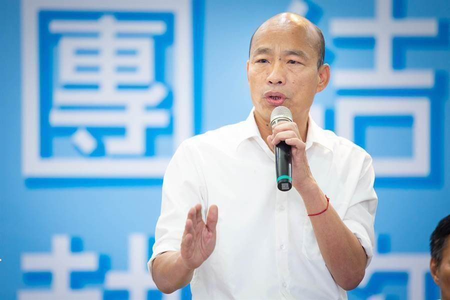 高雄前市長韓國瑜。(圖/中時檔案照)