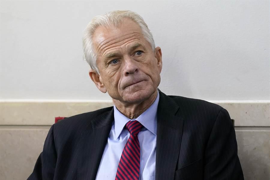 白宮貿易顧問納瓦羅表示,中國和民主黨已達成共識,通過指責川普為疫情負責,以尋求在11月總統大選中擊敗川普。(圖/美聯社)