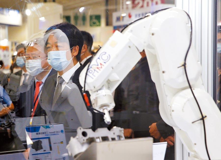 副總統賴清德挺順時中 暗指彰化「下一個和平醫院」。圖/王英豪