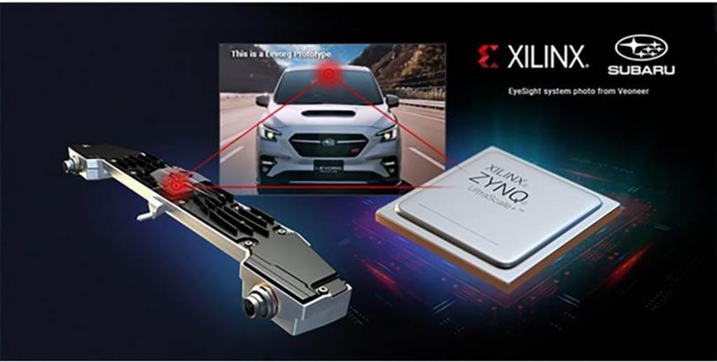 Xilinx 助力 Subaru 實現新一代 EyeSight 系統,新型ADAS技術首次於二代 Subaru Levorg 亮相