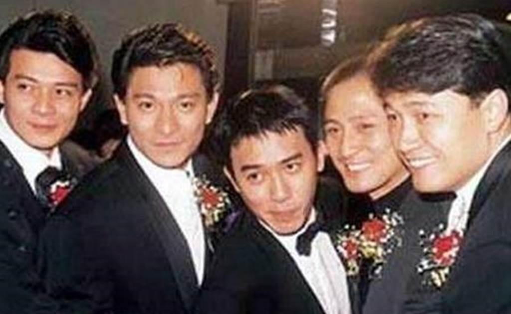 湯鎮業曾與劉德華、梁朝偉等人組成「TVB五虎將」。(圖/微博)