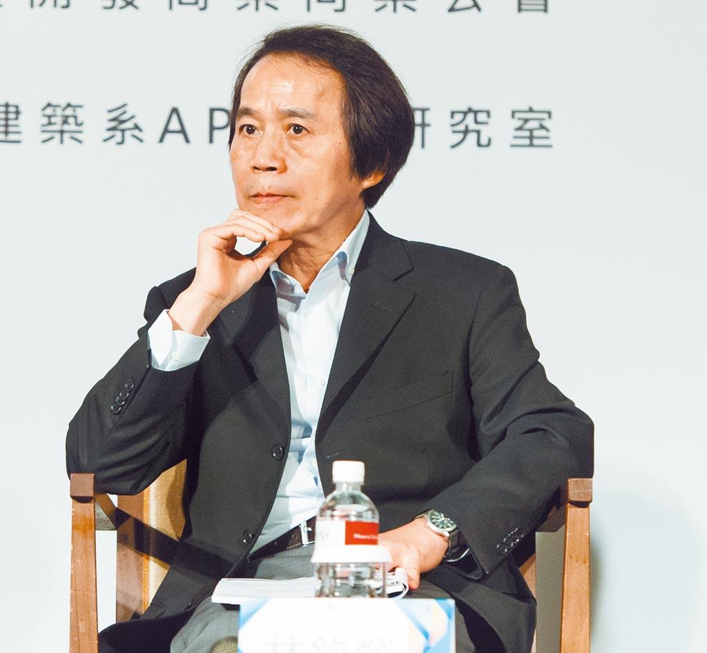 台北市前副市長林欽榮。(本報資料照片)