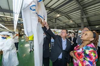 駐臺使節參訪聚紡 獲贈2700件隔離衣、防護衣