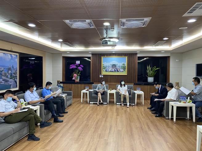 高雄巿議會21日舉行程序委員會議,敲定第4次定期大會在10月6日開幕。(高雄巿議會提供/曹明正高雄傳真)