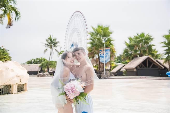 馬拉灣將舉辦浪漫海島風聯合婚禮,募集20對新人一起見證愛情。(陳淑娥攝)