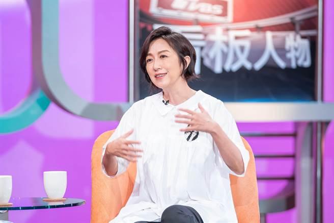 黃韻玲在節目分享一路以來的心境轉變。(TVBS提供)