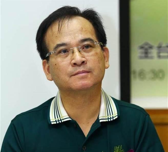 前台南县长苏焕智。(本报资料照片)