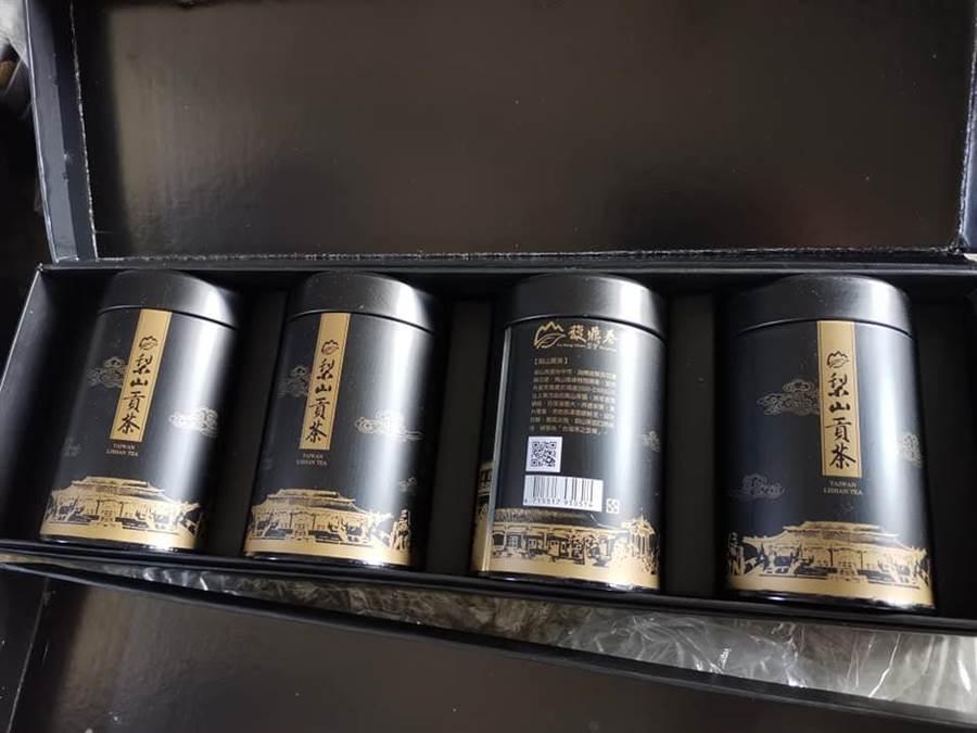 梨山貢茶抓到山寨貨了 高雄倉儲查扣仿冒盒罐 - 寶島