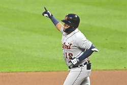 MLB》21歲新秀滿貫炮 老虎20連敗後終於贏印隊