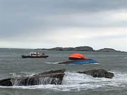 陸船金門翻覆找嘸人 海巡馳援證實對岸救走