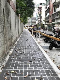 金龍社區道路殘破不堪 工務局500萬整修