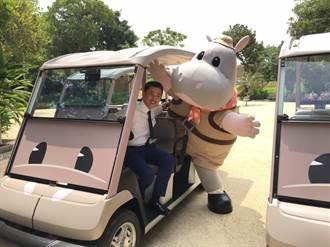 新竹動物園周一獨有「樂樂號」 為行動不便者免費遊園導覽