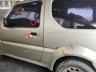 白河警深夜越區嘉義逮人開3槍 偷車賊拒捕前額中彈