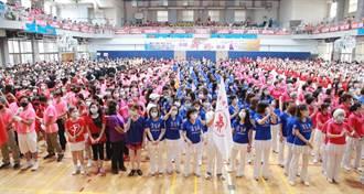 全國舞展海大登場 千位舞者「戴口罩」搖起來!
