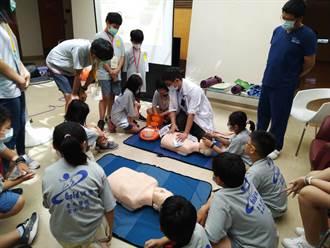台大醫院小小醫師體驗營 趣味課程帶孩童學新知
