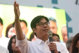 影/陳其邁高雄市長就職典禮 韓國瑜隔空祝福