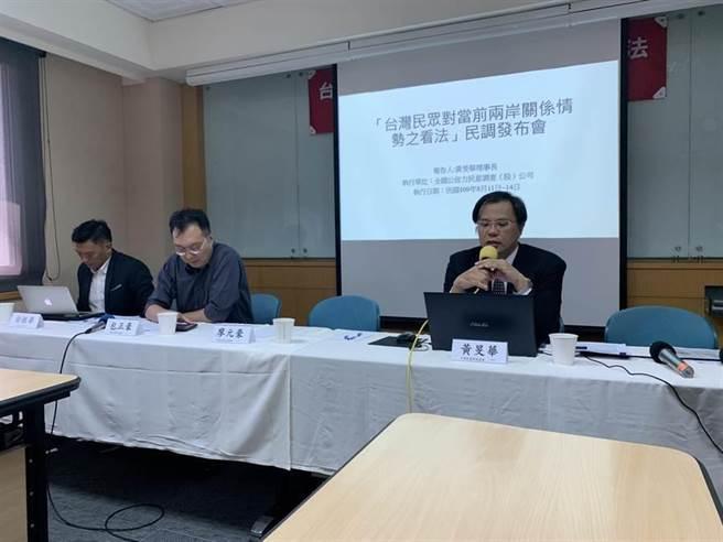 中華民意研究協會公布最新民調。(民眾提供)