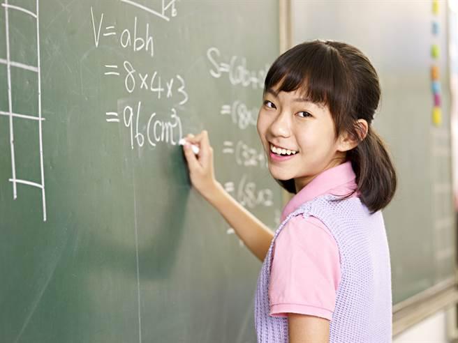 亞洲小孩比較會算數和數字的發音有關。示意圖。(圖片來源/達志影像shutterstock提供)