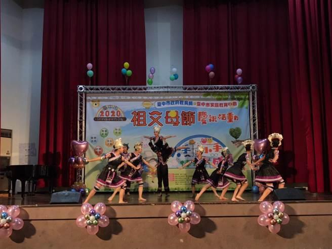 各級學校分別帶來現代舞、民俗舞及熱舞等演出。(台中市政府提供/陳世宗台中傳真)