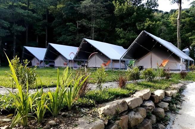 基隆童軍暨生態遊學中心在暖暖啟用。(吳康瑋攝)