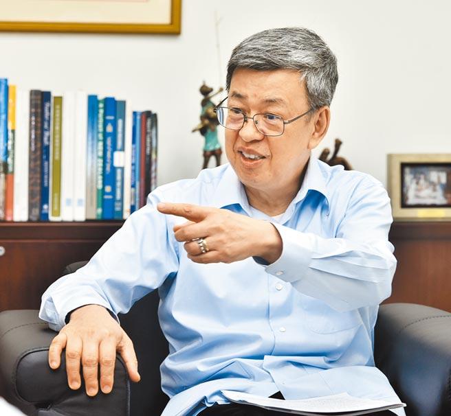 前副總統陳建仁舉3因素,指普篩結果恐失真。(本報資料照片)
