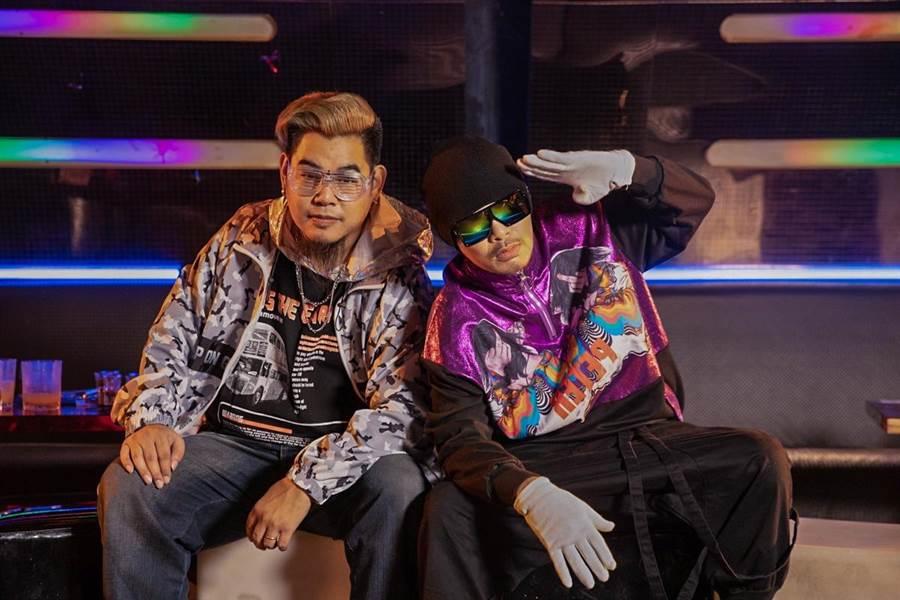 黄明志推出新歌〈不要去Club〉致敬罗百吉。(亚洲通文创提供)