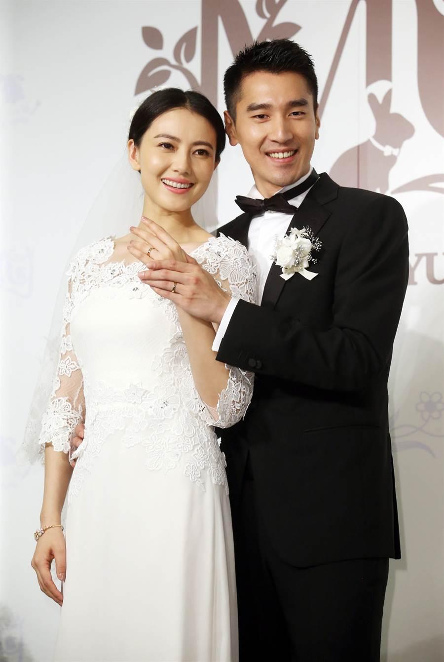 高圓圓與趙又廷結婚6年,並在去年喜迎女兒出生。(圖/本報系資料照片)