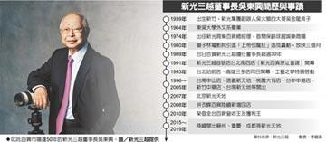 新光大老吳東興辭世 享壽81歲