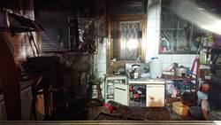 台中民宅廚房暗夜氣爆 男點燃瓦斯輕生40%燒燙傷