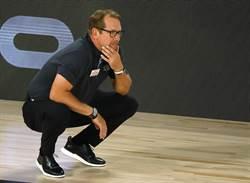 NBA》擊敗公鹿教頭 暴龍納斯獲選最佳教練