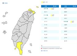 基隆、新北、屏東大雨特報 鄭明典:小心颱風大尾巴