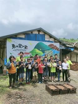 東山青農推廣龍眼土窯文化 國小學童體驗採收烘焙辛勞