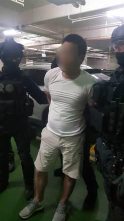 左營角頭持槍傷人逃5年死性不改 涉街頭擄人軍師終於落網