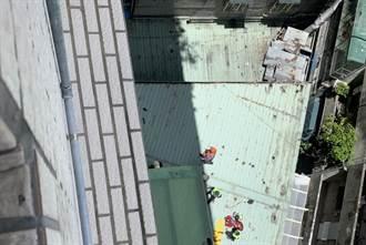 三重老翁從氣窗想爬進8樓住家 失足慘摔當場不治