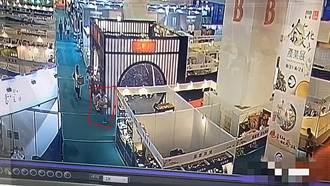 世貿展3分鐘偷走141萬名貴沉香  36歲嫌犯頭份落網