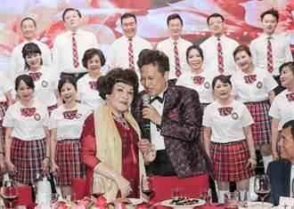 周遊辦83歲壽宴 李朝永公開告白「愛到天荒地老」