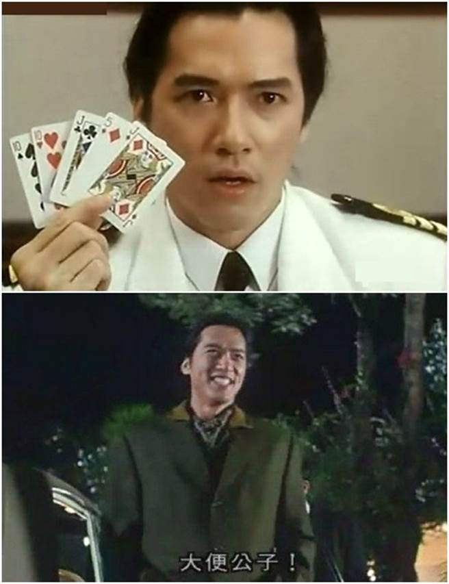 單立文演出《賭俠》、《與龍共舞》被台灣觀眾所熟識。(圖/翻攝自網路)