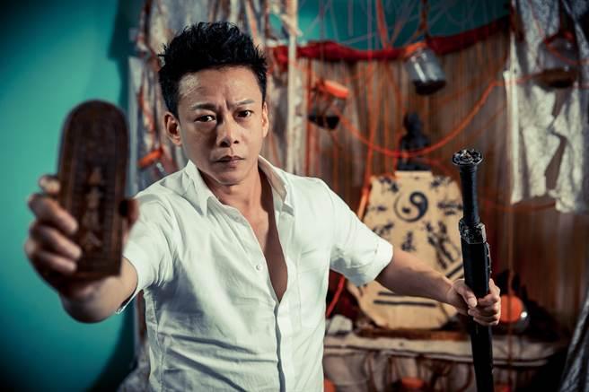 李康生表示,拍攝《粽邪2》時很辛苦,幾乎天天都是夜戲。(羅永銘攝)