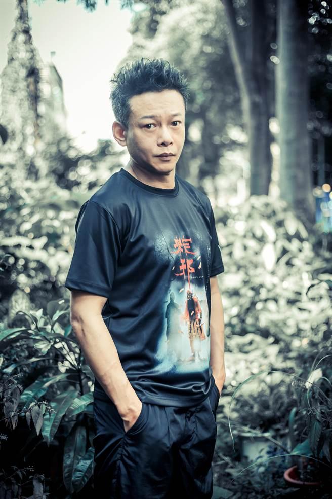 《粽邪2》通過本屆金馬獎初選,李康生挑戰新戲路可望再次入圍。(羅永銘攝)