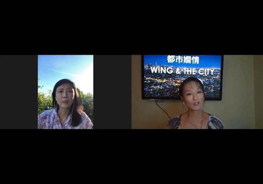 黃鶯在林穎嫺節目還原當年真相。(圖/翻攝自YouTube)