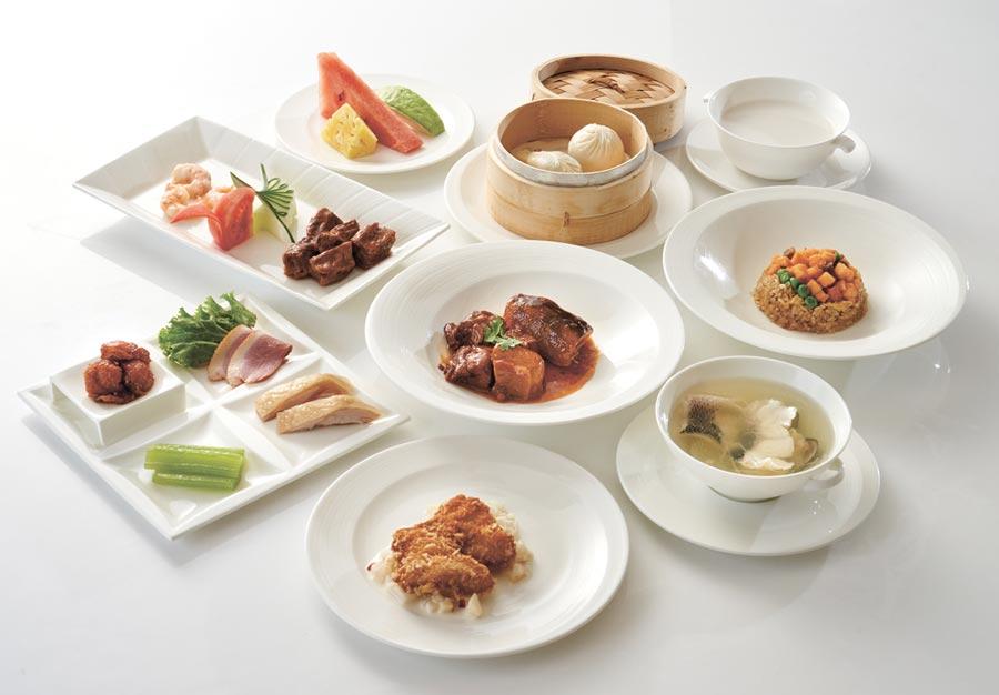 台北福華於觀博會販售熱門的中西美食餐券,可享用江南春單人海陸套餐。圖/業者提供