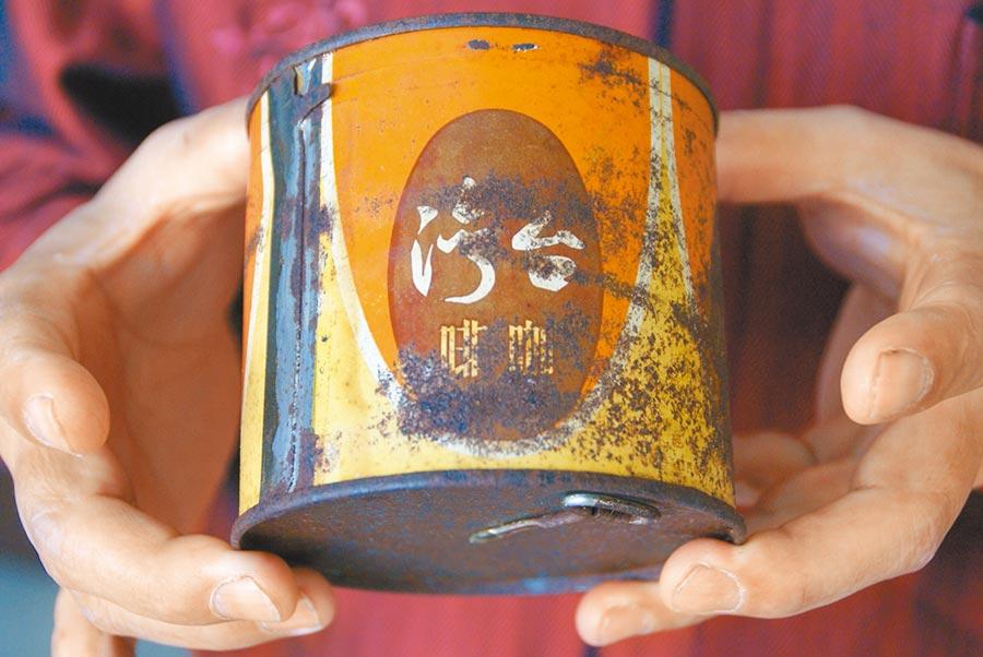 1960年代在斗六咖啡工廠生產的古坑咖啡就叫「台灣咖啡」。(周麗蘭攝)